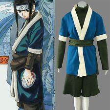 Naruto Haku Cosplay Costume Handmade Full Set