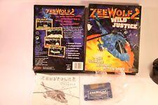 RARE Jeu Zee Wolf 2 Wild Justice Amiga A500/A600/A1200 1 Mo RAM Req 1995