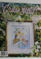 Cross Stitch 20 Patterns Heart Blessing Bird Fairy Kitty Welcome Noahs Ark 3/93