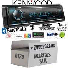 Kenwood Autoradio für Mercedes SLK R170 DAB+ Bluetooth/iPhone/Android/Spotify