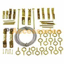 50 Pcs Professional Picture Hanging Tool Kit Hooks Assortment