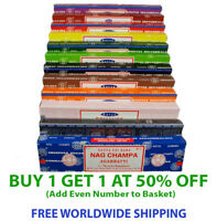 Genuine SATYA SAI BABA NAG CHAMPA VARIETY MIX 15Gms BOXES OF Incense Sticks