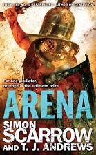Simon Scarrow & T J ANDREWS _ arena (Gladiador) _ Nuevo __ ENVÍO GRATIS GB