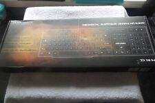 DBPower DB-A8 LED Backlit USB Wired black mechanical suspension gaming keyboard