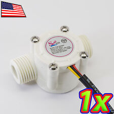 [1x] YF-S201 Water Flow Meter Hall Sensor Counter Small - 1.0 to 30 L/min 5VDC