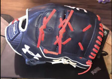 "Under Armour Genuine Pro USA Series Field Glove 12"" UAFGGP-12002P Navy/Red RHT"