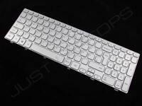 New Dell Inspiron 15 7537 German Deutsch Silver Backlit Keyboard Tastatur