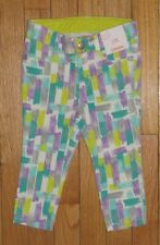 Nwt Gymboree 12-18M Girls Purple Teal Blue Green Limegray Paint Splatter Jeans
