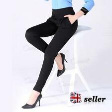 Unbranded Cotton Blend Regular Size Trousers for Women
