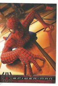 SPIDER-MAN  PROMO  MOVIE CARD  P1  -  TOPPS 2002