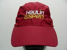 Haulin Aspen - Open Trial Marathon - Ligero Nailon Pelota Ajustable Gorro Gorra