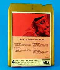 Best OF SAMMY DAVIS, JR.  8 TRACK TAPE E-405 Golden Goodies