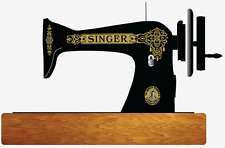 Singer Model 15 Celtic Style Sewing Machine Restoration Decals 40726