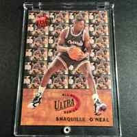 SHAQUILLE O'NEAL SHAQ 1992 FLEER ULTRA #7 ALL-ROOKIE SERIES RC NBA HALL OF FAMER