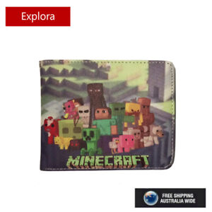 New Minecraft  Faux Leather Wallet  with Coin Pouch - 6