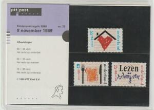 Netherlands 1989 #B647-49 Children's Rights - MNH