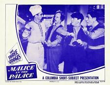 The 3 STOOGES With MOE LARRY SHEMP In MALICE IN THE PALACE 11x14 LC Print 1949