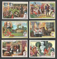 Life of Giuseppe Verdi Card Set 1902 Liebig Music Opera Theatre Falstaff Choir