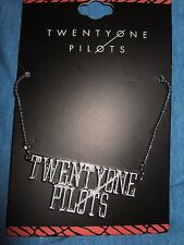 New 21 Twenty one pilots Music Band Logo Necklace Pendant  jewelry 21 pilot
