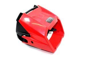 2018 Polaris Sportsman 570 EPS Speedometer Dash Covers Red Plastic (OEM Pair)