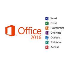 Microsoft Office MS Office 2016 Professional Plus License + USB Brand New - 2 PC