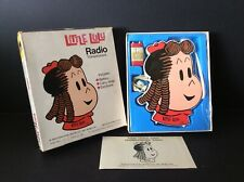 Little Lulu Transistorized Radio by Gund 1972 New in Box