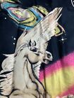 """Pegasus Wall Tapestry Table Runner Multi Color Approximately 34"""" x 54"""""""