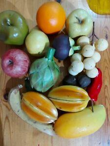 Vintage Artificial Fruit