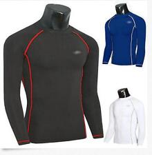 New 2016 Men Gym Rash Guard Long Sleeve Tops Shirt Swimwear Wetsuit Swimming@