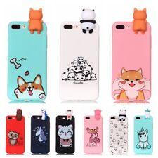 Cute 3D Cartoon Animals Phone Case for iPhone 6 S 7 8 Plus X XS Max XR 11 Pro