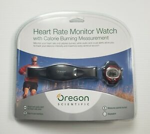 NEW Oregon Scientific Heart Rate Monitor Watch Calorie Tracker SE1280 SEALED