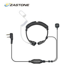 Throat Mic Headset/Earpiece PTT For Walkie Talkie Baofeng UV5R Puxing 2way radio