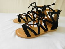 2f3af1f6abf Dolce Vita Women Shoes Sandal BLACK 8 New Open Toe Suede Goodtreasures123