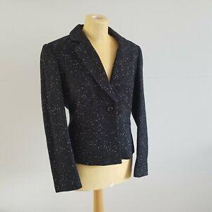 Planet Jacket Short Blazer Formal Business Work Uk Size 10