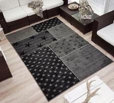 Teppich grau schwarz  Graue Wohnraum-Teppiche | eBay
