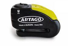 Artago Motorcycle 30X Alarm brake disc lock - 12mm / 120 dB anti theft Alarm