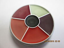 Professional 6 Colour Burn Wheel Cream Make Up (Stage / Film / Halloween)