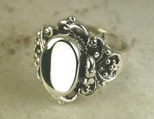 STUNNING .925 STERLING SILVER GOTHIC  POISON RING size 6  style# r0658