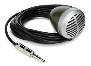 "Shure 520DX ""Green Bullet"" Harmonica Microphone"