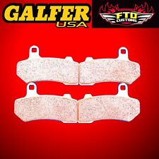 Galfer HH Sintered Brake Pads, 2 pair,  Simply the best you can buy.   FD3691370
