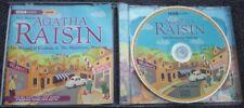 AGATHA RAISIN Wizard Of Evesham / Murderous Marriage 2 x CD AUDIO Penelope Keith