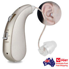 Rechargeable Digital Hearing Aid Severe Loss Invisible BTE Ear Aid High-Power AU