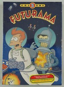 Futurama Volume 3 The Complete Third Season DVD box set 2003 NEW SEALED