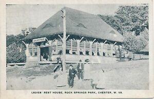 CHESTER WV - Rock Springs Park Ladies Rest House