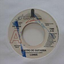 Lunna Rostro De Guitarra Capitol EMI Promo VG+ 45 RPM #1954