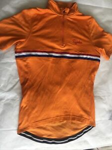 Rapha 'Country' Netherlands orange cycling jersey, well worn, small size.