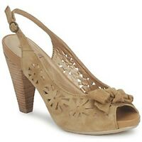 RRP-£60 Hush Puppies Womens Ladies TAMER Suede Open Toe  Sandal Shoes  UK4, 8