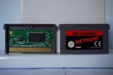 Metroid Nes Classics gameboy advance game boy gba nintendo videogame 2004 PAL