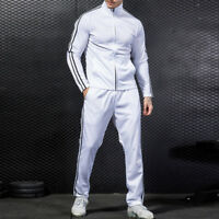Casual Men's Jogging Sports Coat Trousers Athletic Tracksuit Sweat Pant Outwear