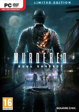 PC GIOCO murdered: Soul Suspect Limited Edition DVD spedizione NUOVO